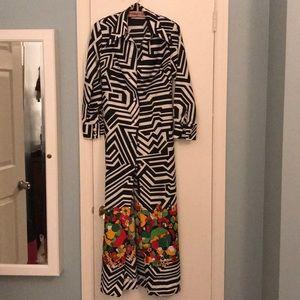 Lanvin Paris Coat dress Authentic vintage 1970s